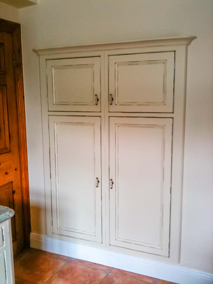 Distressed Hand Painted Inframe Kitchen Stylecraft Kitchens And Bedrooms Cork